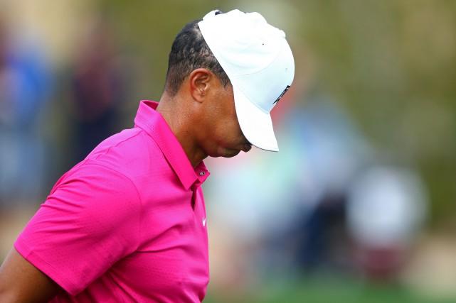 Tiger Woods est endanger de ne pas respecter... (Photo Mark J. Rebilas, USA TODAY)