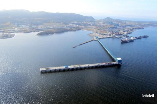 Pendant des mois, le Port de Sept-Îles et... (Photothèque Le Soleil)