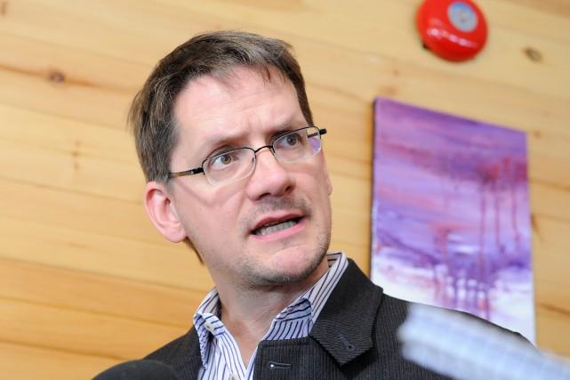 Le député de Jonquière à l'Assemblée nationale, Sylvain... ((Photo Gimmy Desbiens))