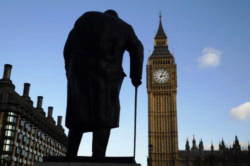 Churchill s'est éteint le 24 janvier 1965 à... (Photo LUKE MACGREGOR, Reuters)