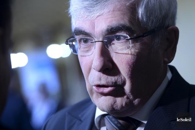 Clément Gignac, vice-président principal et économiste en chef... (Photothèque Le Soleil, Jean-Marie-Villeneuve)