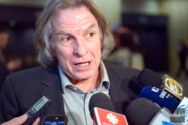 Eugène Lapierre, vice-président du tennis professionnel pour le... (Le Soleil, Yan Doublet)