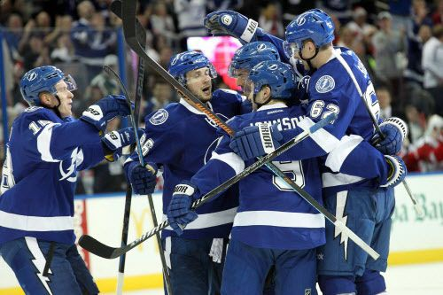 Le Lightning de Tampa Bay a défait les... (Photo Kim Klement-USA TODAY Sports)