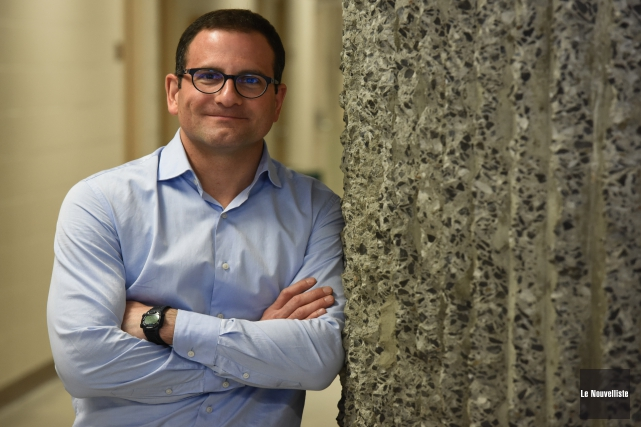 Frédéric Laurin, professeur au département des sciences de... (Photo: François Gervais Le Nouvelliste)