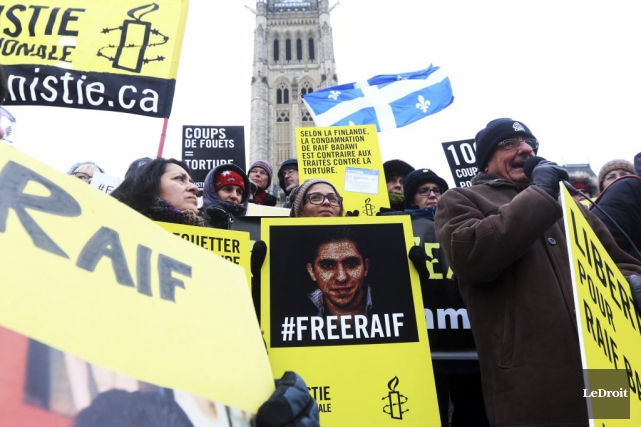 Raif Badawi.... (PHOTO ARCHIVES LE DROIT)