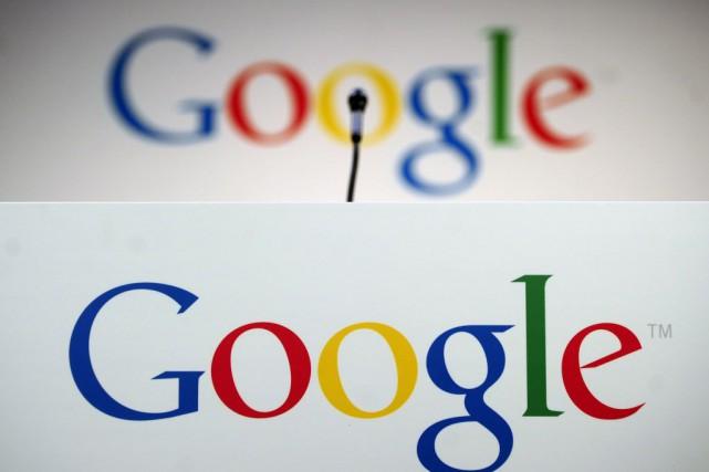 Le géant informatique Google attribue le ralentissement de... (PHOTO EMMANUEL DUNAND, AFP)