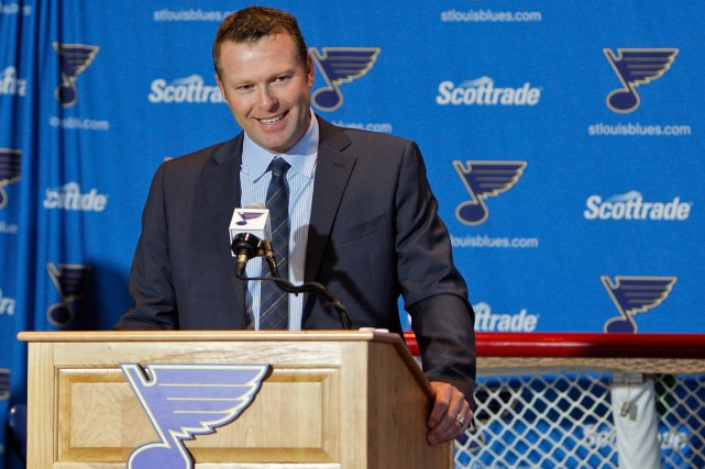 Le gardien Martin Brodeur a annoncé sa retraite... (Photo Scott Kane, USA Today Sports)