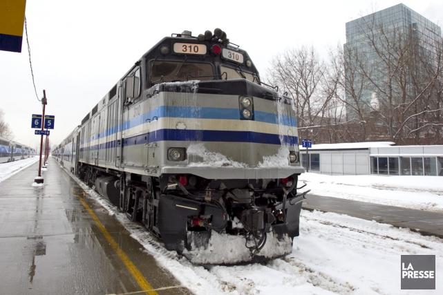La coalition du Train de l'Ouest s'est réjouie hier de l'intérêt de la Caisse... (PHOTO ALAIN ROBERGE, LA PRESSE)