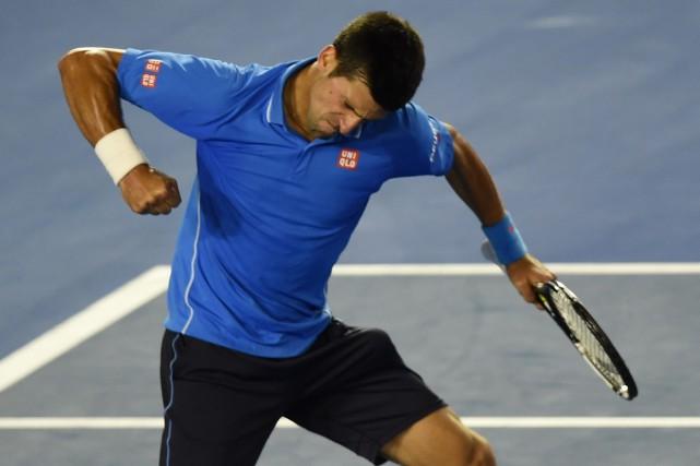 Le numéro un mondial Novak Djokovic a vaincu... (Photo Manan Vatsyayana, AFP)