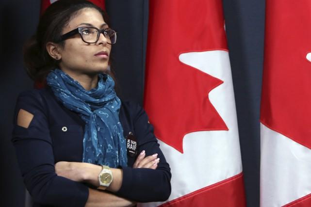 L'épouse de RaïfBadawi, Ensaf Haidar,a déjà indiqué que... (La Presse Canadienne, Fred Chartrand)
