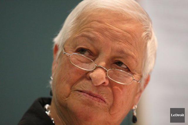 La mairesse de Plaisance et préfète, Paulette Lalande,... (Étienne Ranger, archives LeDroit)