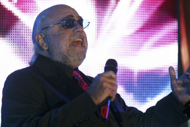 Demis Roussos en 2006.... (PHOTO ANTON DENISOV, ARCHIVES REUTERS)