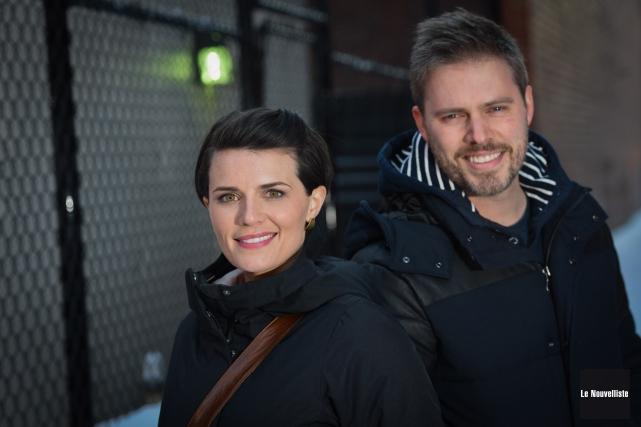 Marie-Ève Janvier et Jean-François Breau ont pris plaisir... (Photo: François Gervais Le Nouvelliste)