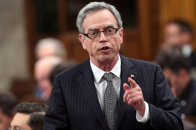 Le ministre des Finances, Joe Oliver, s'est fait... (Photo FRED CHARTRAND, archives PC)