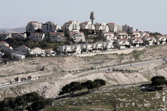 Israël va construire 450 nouveaux logements pour des... (PHOTO AHMAD GHARABLI, AFP)
