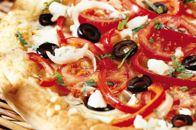 Les pizzas locales n'étant pas à leur goût, un couple de Regina, en... (Photo archives PC)