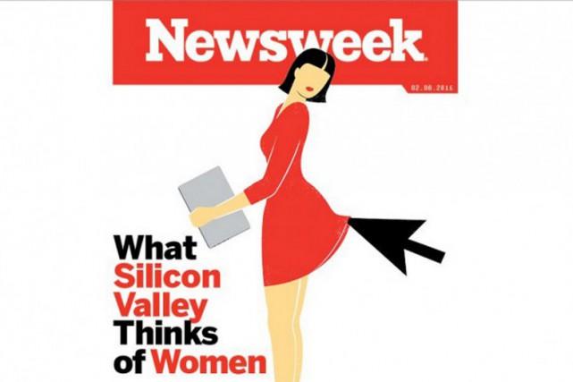 Deux jeunes programmeuses avec un projet de startup arrivent à Silicon... (IMAGE NEWSWEEK)