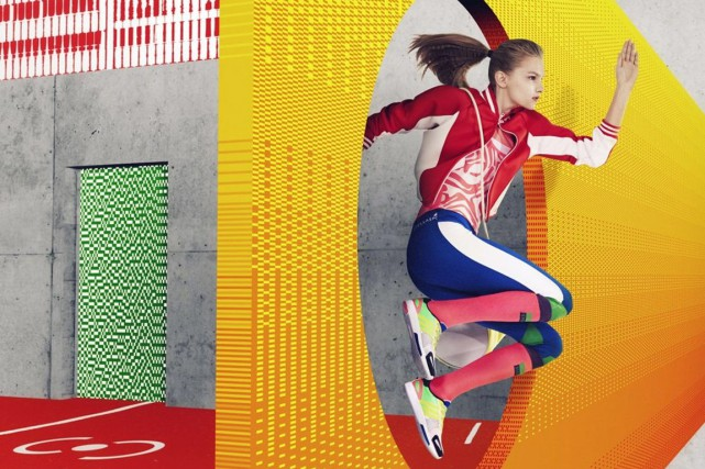 Stella McCartney a créé la collection Stellasport pour... (Photo fournie par Adidas)
