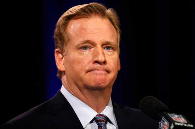 Le commissaire de la NFL, Roger Goodell.... (Photo Lucy Nicholson, Reuters)
