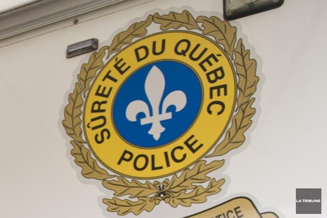 Les policiers de la Sûreté du Québec ont procédé à l'arrestation de John... (Archives, La Tribune)