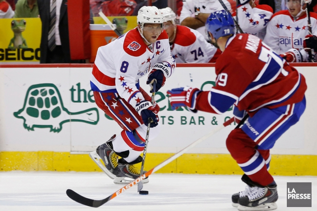 Alexander Ovechkin connaît beaucoup de succès face au Canadien,... (Photo Geoff Burke, USA Today Sports)