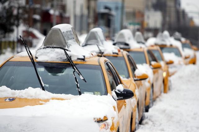 La ville de New York a reçu moins... (Photo Jason DeCrow, Associated Press)