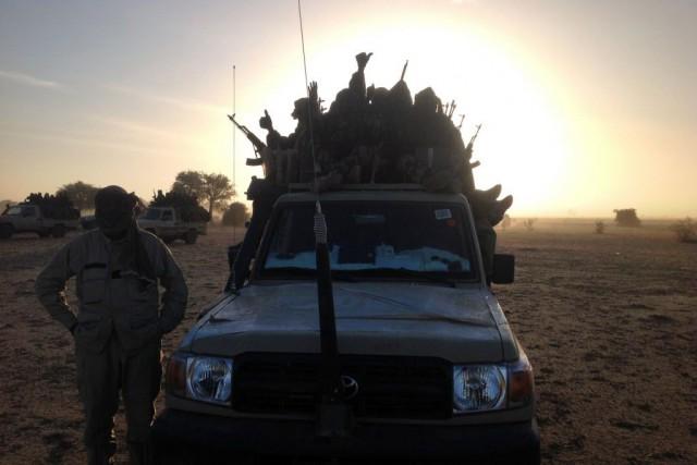 Les troupes tchadiennes, arrivées au Cameroun le 17... (PHOTO ALI KAYA, AFP)