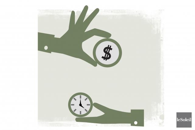 Les priorités à l'épargne peuvent évoluer selon l'âge de chacun.Après les... (Infographie Le Soleil)