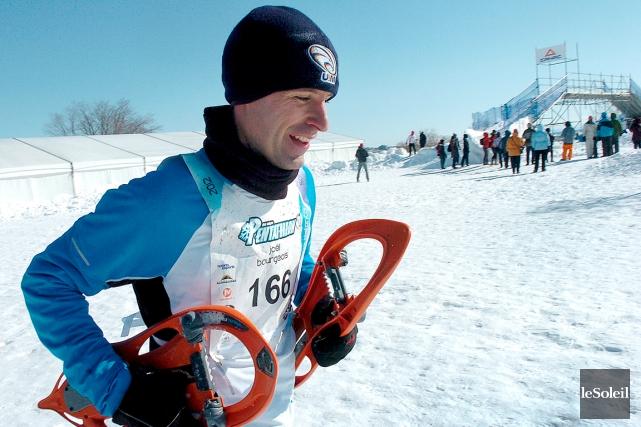 Joël Bourgeois, de Québec, est un des athlètes... (Photothèque Le Soleil, Jean-Marie Villeneuve)