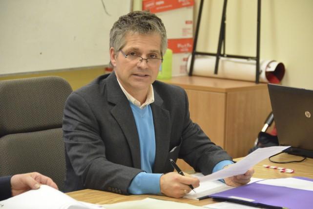 Le directeur général du CSSS La Pommeraie, Bruno... (Photo archives La Voix de l'Est)