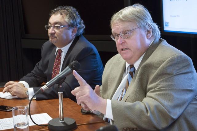 Le directeur de la santé publique, Horacio Arruda,... (PHOTO PAUL CHIASSON, LA PRESSE CANADIENNE)