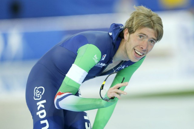 Jorrit Bergsma... (Photo Terje Pedersen, AP)