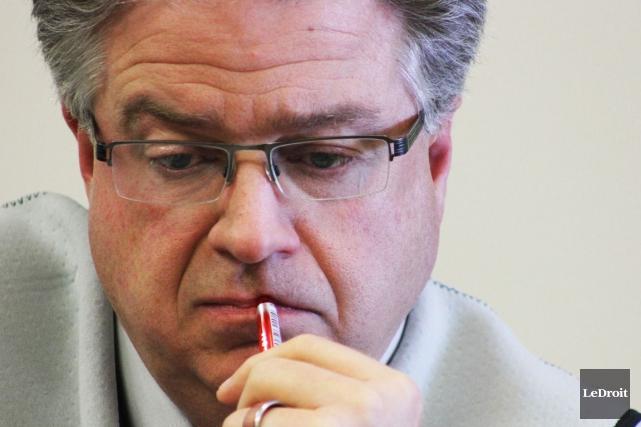 Le directeur général d'Ottawa, Kent Kirkpatrick.... (Etienne Ranger, Archives LeDroit)