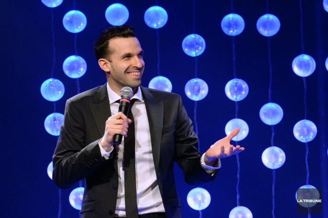 Nouveau venu sur la scène de l'humour québécois,... (IMACOM, Maxime Picard)