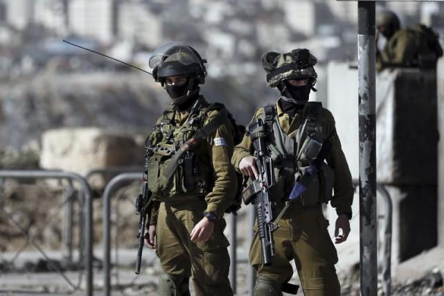 Une porte-parole de l'armée israélienne a confirmé que... (PHOTO THOMAS COEX, ARCHIVES AFP)