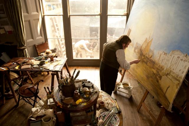 Magistralement interprété par Timothy Spall, M. Turner évolue... (Photo fournie par Métropole films)