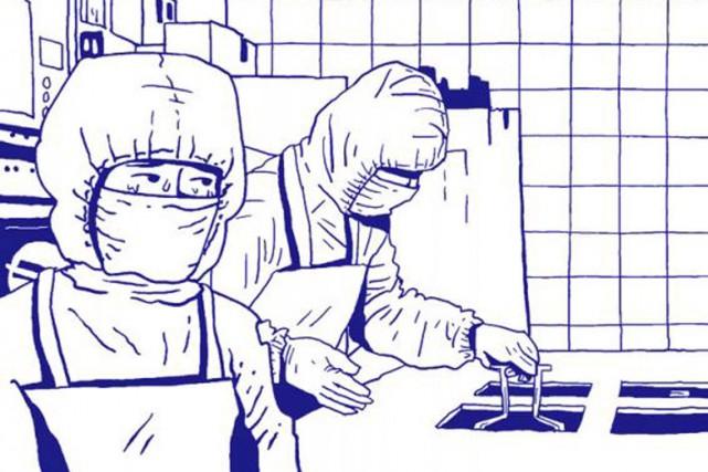 Dans la bande-dessinéeLe parfum des hommes, l'auteur sud-coréen Kim...