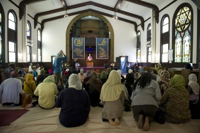 Des mosquées réservées aux femmes existent en Chine,... (Photo Lori Shepler, REUTERS)