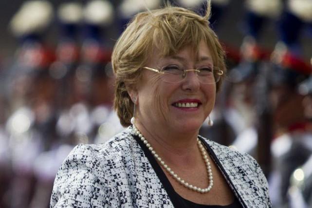 Michelle Bachelet propose de décriminaliser l'avortement dans trois... (Photo Moises Castillo, AP)