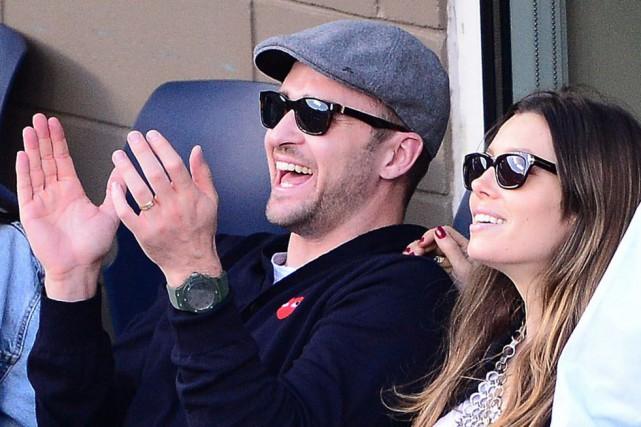 Justin Timberlake a fait ses débuts très jeune... (PHOTO EMMANUEL DUNAND, AFP)
