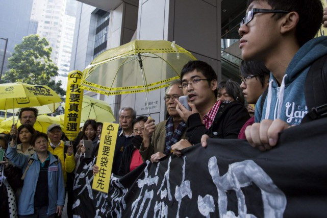 Des manifestants ont paralysé Hong Kong et ont... (Photo TYRONE SIU, Reuters)