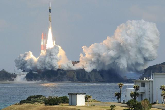Il s'agissait de la 27e mission de la... (PHOTO REUTERS)