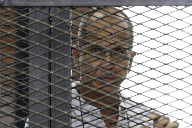 Peter Greste... (PHOTO ASMAA WAGUIH, REUTERS)