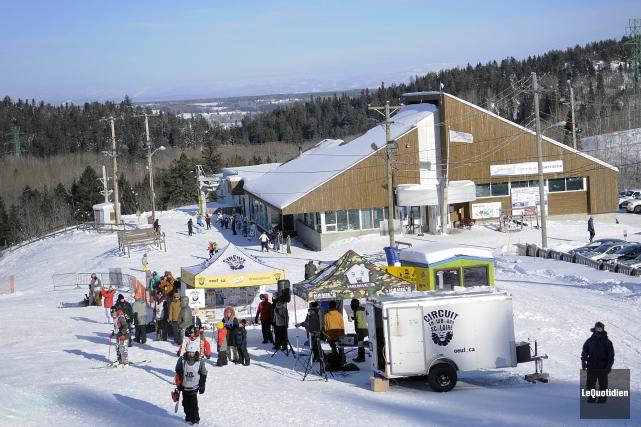 Le centre de ski Mont-Fortin... (Archives Le Quotidien, Mariane L. St-Gelais)