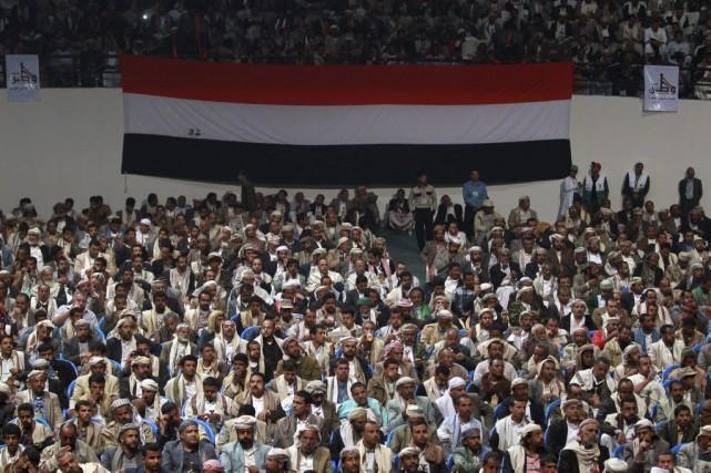 Cet ultimatum a été annoncé au terme d'une... (PHOTO MOHAMMED HUWAIS, AGENCE FRANCE-PRESSE)