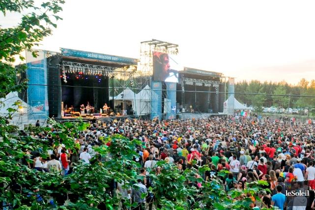 Woodstock en Beauce, qui à son apogée a... (Photothèque Le Soleil)