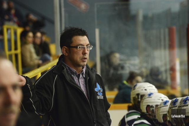 L'entraineur-chef du Nordik de Cowansville, Martin Forand... (photo archives La Voix de l'Est)