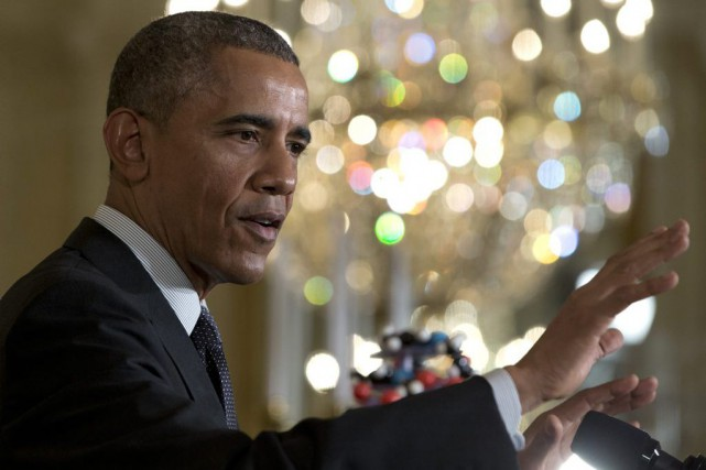 Barack Obama... (Photo Carolyn Kaster, AP)