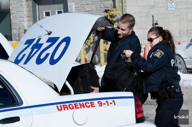 La police de Québec veut moderniser ses façons... (Le Soleil, Jean-Marie Villeneuve)