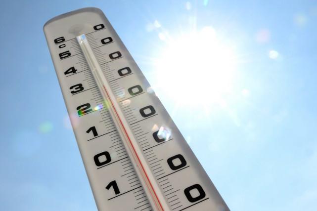 La température moyenne de l'air l'an dernier à... (PHOTO DENIS CHARLET, ARCHIVES AFP)